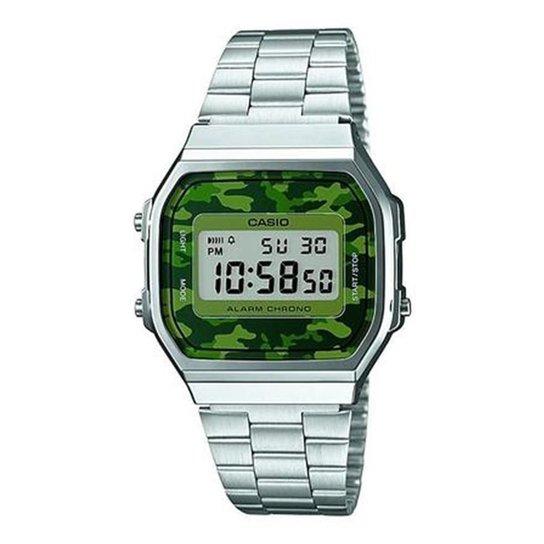 84a7a8a89b1 Relógio Unisex Casio Digital - Prata - Compre Agora