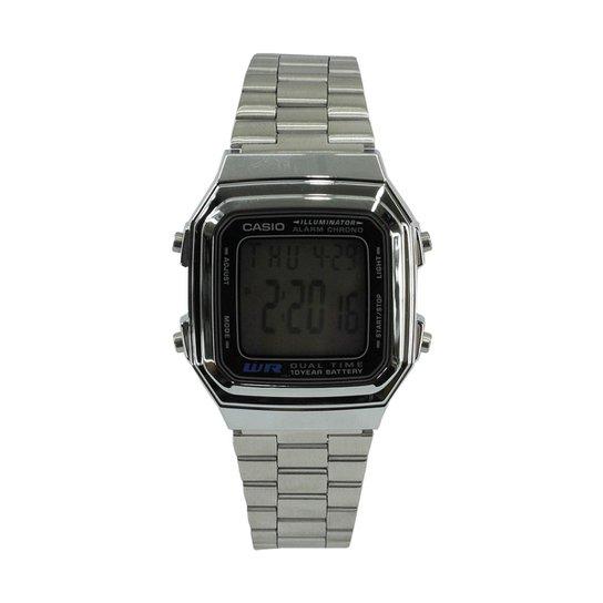 04720b034a7 Relógio Casio Vintage A178WA-1ADF - Prata - Compre Agora