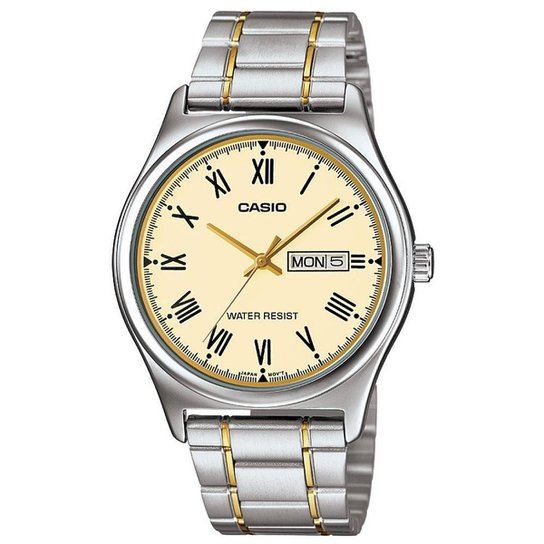 c2d86b1d244 Relógio Masculino Casio Analógico Mtp-V006sg-9Budf - Prata - Compre ...