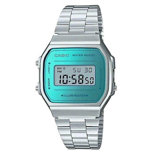 fbb02016df4 Relógio Casio Unisex Vintage - Prata - Compre Agora