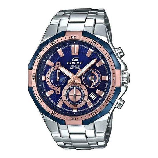 356115ba0fd Relógio Casio Edifice Masculino - Prata - Compre Agora