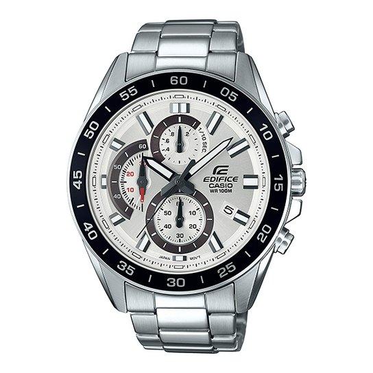 84aa770e6b9 Relógio Casio Efv-550d-7avudf Masculino - Prata - Compre Agora