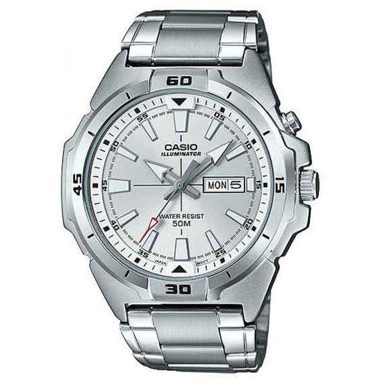 f3e762159ba Relógio Casio Mtp-E203d-7avdf-Br Masculino - Prata - Compre Agora ...