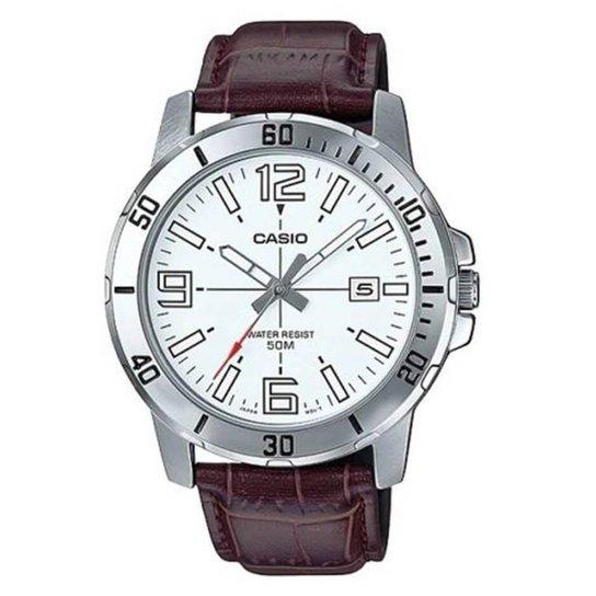 04725109e3b Relógio Casio Masculino MTP-VD01L-7BV - Prata - Compre Agora