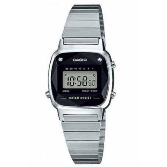 e17a8e1ea13 Relógio Casio Vintage Diamond Feminino - Prata - Compre Agora