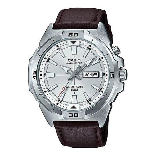 64bc2f15ebe Relógio Casio Collection Masculino - Prata - Compre Agora