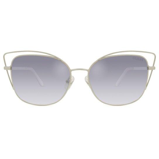 a04dcf9fb Óculos de Sol Guess Feminino - Prata | Zattini