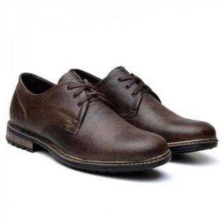 5c92d87d01 Sapato Casual Masculino Marrom Escuro
