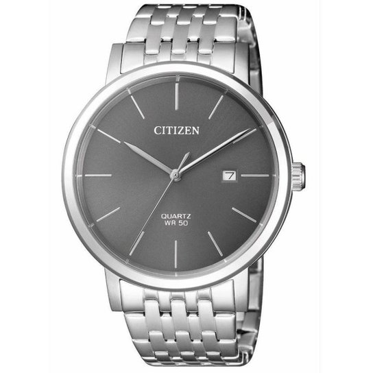 2fa5fdf675a Relógio Citizen Masculino - Prata - Compre Agora