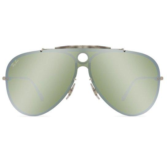 050466ad8 Óculos de Sol Ray Ban Blaze Shooter RB3581N 003/30-32 - Prata | Zattini