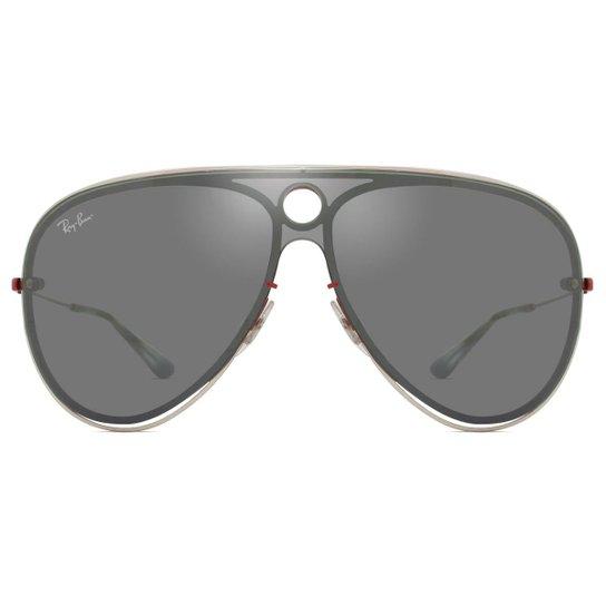 72326702b Óculos de Sol Ray Ban Wayfarer II Classic - Prata | Zattini