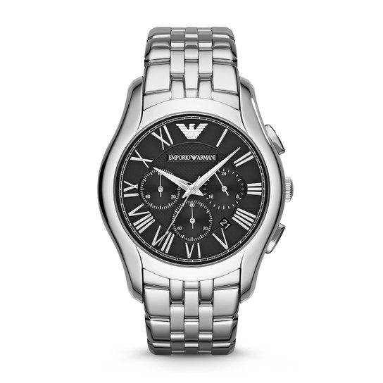 c6a30b4f78a Relógio Emporio Armani Analógico AR17861PN Masculino - Prata ...