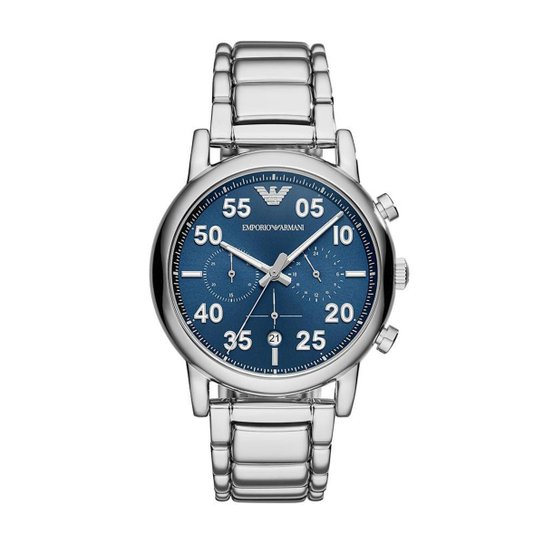 17d2eca7e58 Relógio Empório Armani Masculino Luigi - AR11132 1KN AR11132 1KN - Prata