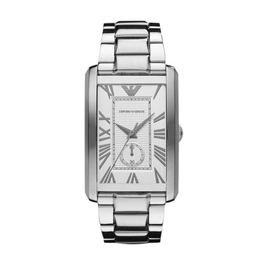 07242133842 Relógio Emporio Armani Masculino Prata - HAR1607 Z HAR1607 Z - Prata
