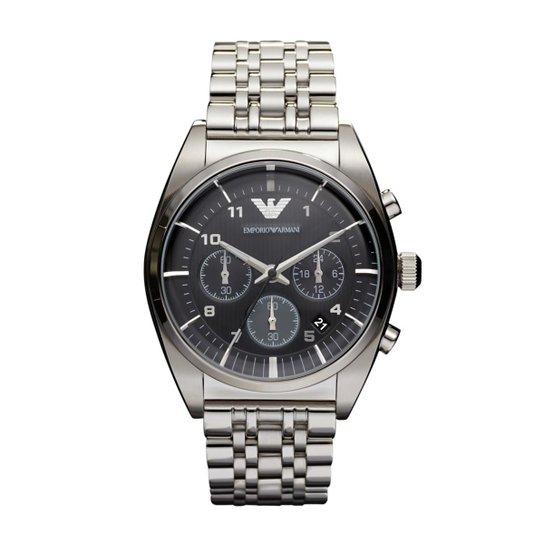 e4d1cc268ab Relógio Emporio Armani Masculino Prata - HAR0373 Z HAR0373 Z - Prata