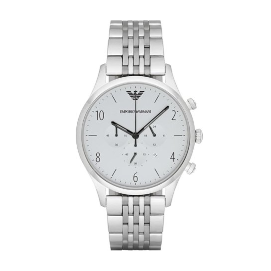 5a5cf71717c Relógio Emporio Armani Masculino - AR1879 1KN AR1879 1KN - Prata ...