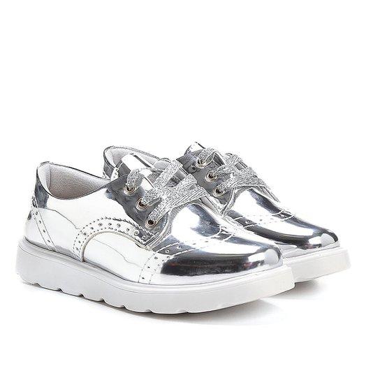 fafb25291e Sapato Klassipé Metalizado Infantil - Prata