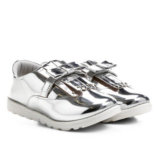 a5fd8b7909 Sapato Klassipé Infantil - Prata - Compre Agora