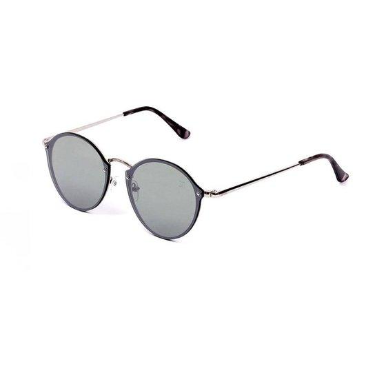 8e3204627e0e9 Óculos de Sol Classic Redondo Espelhado - Prata - Compre Agora   Zattini