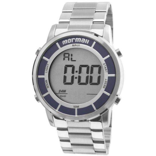 9d563650b9bbe Relógio Mormaii Masculino Digital - Prata - Compre Agora