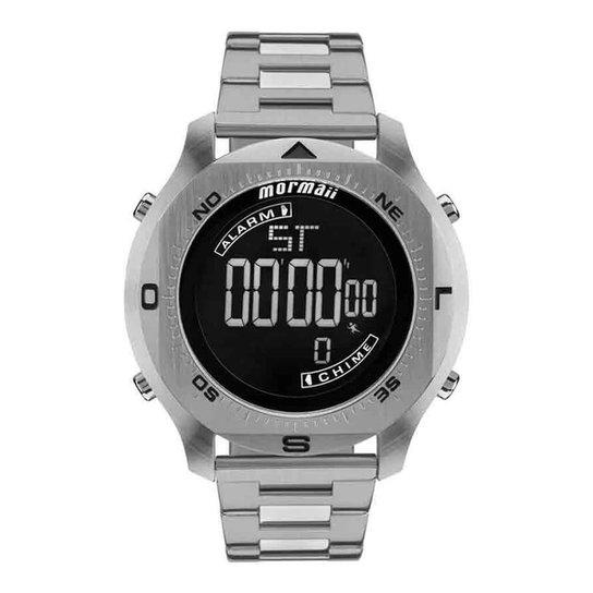 431692f7b745c Relógio Mormaii MO11273C 1P Masculino - Prata - Compre Agora