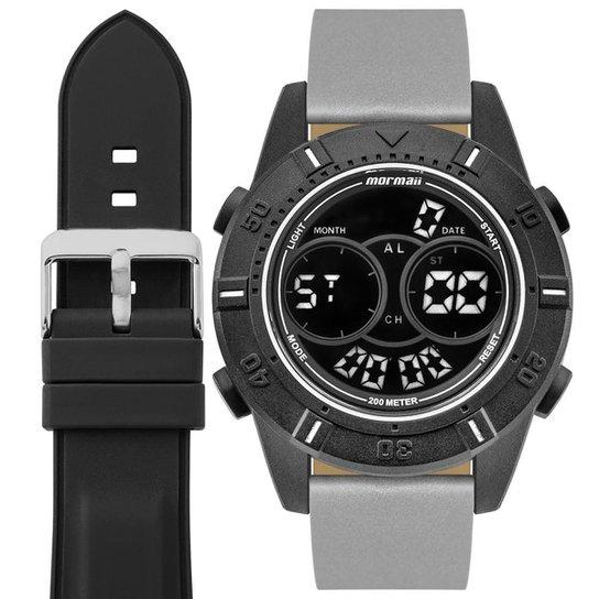 078a2f85c8fb6 Relógio Mormaii Interestelar Masculino - Prata - Compre Agora