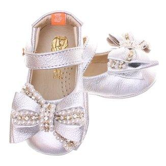 21b1d072c2 Sapato Boneca Mogly Laço Bordado