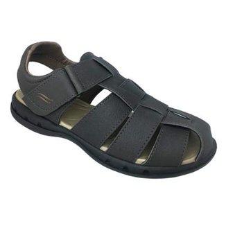 3b49491a1 Sandália Itapuã Velcro Masculina