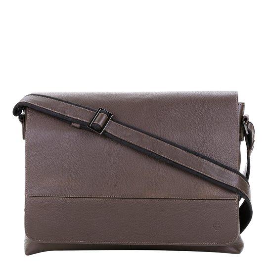 958097990 Bolsa Carteiro Couro Capodarte - Compre Agora