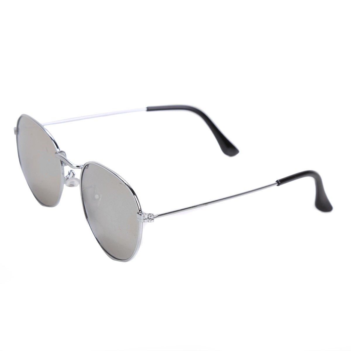 Óculos de Sol Polo London Club Redondo Espelhado Feminino