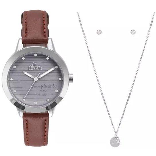 Kit Relógio Feminino Allora Serena Al2036flw K2c M - Compre Agora ... 3aa038dad8