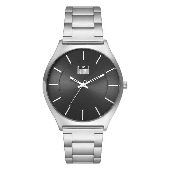f76618f320c Relógio Dumont Slim DUGL30AM 4K Masculino - Prata - Compre Agora ...