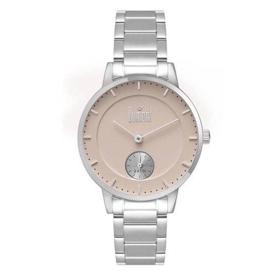 4f80d9b2349 Relógio Dumont Feminino Duvd78cb 3k - Prata - Compre Agora
