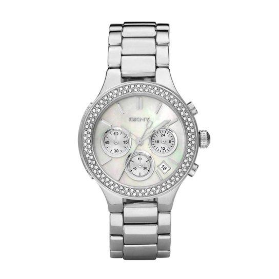 08560dad810 Relógio DKNY Feminino Prata - GNY8057 Z GNY8057 Z - Compre Agora ...