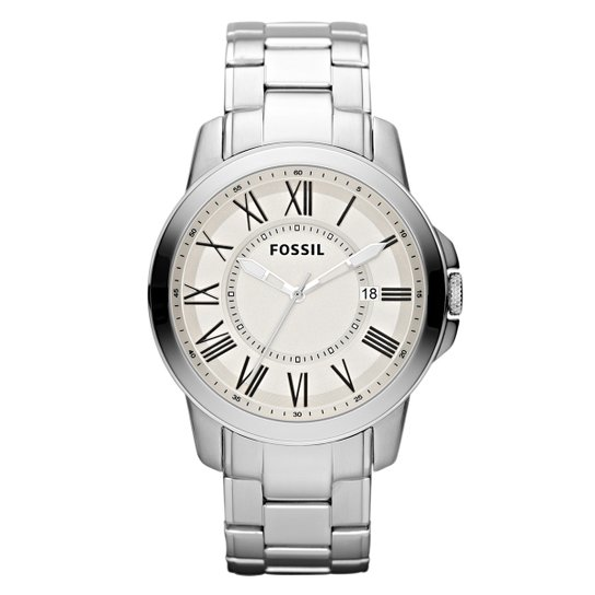 2a4e2e5c40f Relógio Fossil - Prata - Compre Agora