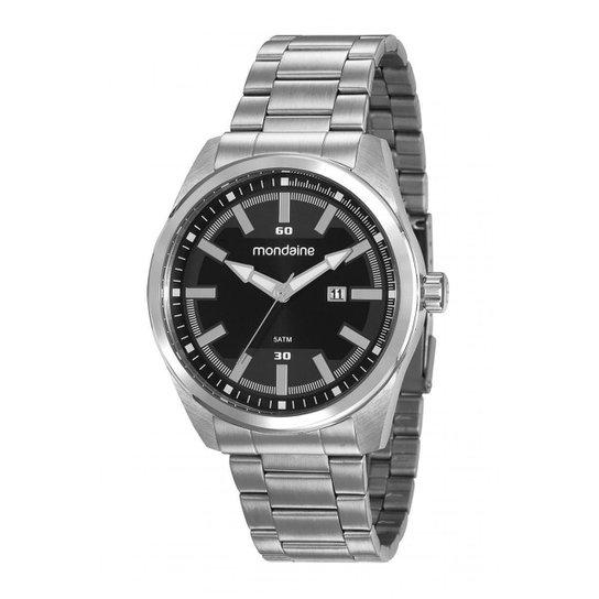 49caf9667985c Relógio Mondaine 99272g0mvna1 Masculino - Prata - Compre Agora