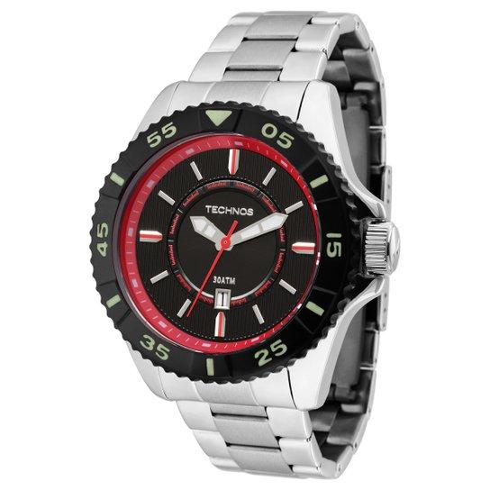 7c60b24a2d2 Relógio Technos Pulseira de Aço - Prata - Compre Agora