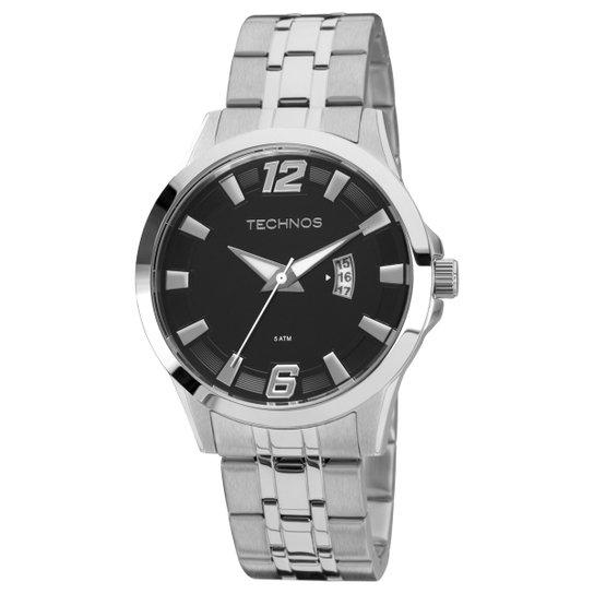 Relógio Technos Pulseira de Aço 2115KPV1P - Prata - Compre Agora ... d547f27d14