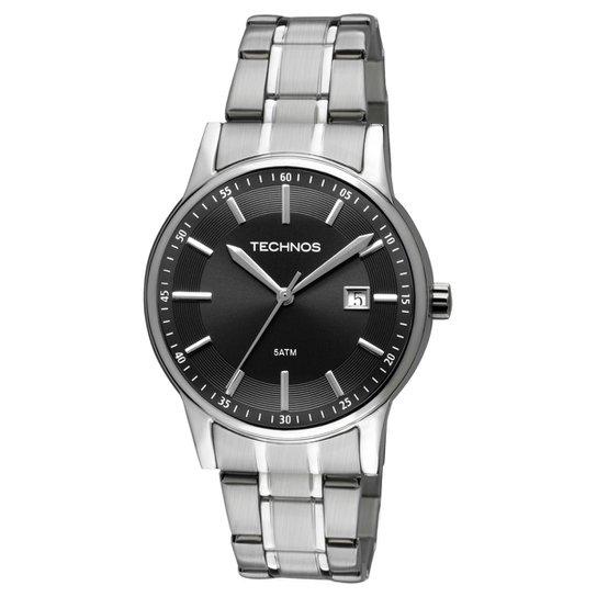 4c070d67b9ade Relógio Technos Pulseira de Aço - Prata - Compre Agora