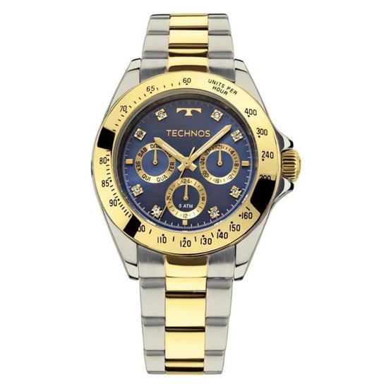 14696fc1600 Relógio Technos Feminino - 6P29AIV-5A - Prata - Compre Agora