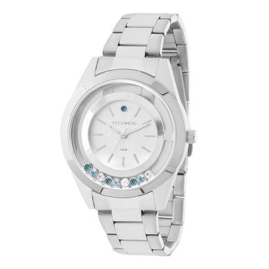 469e7fd05c580 Relógio Feminino Technos 2036MEQ 1K 37mm Pulseira Aço Prata - Compre ...