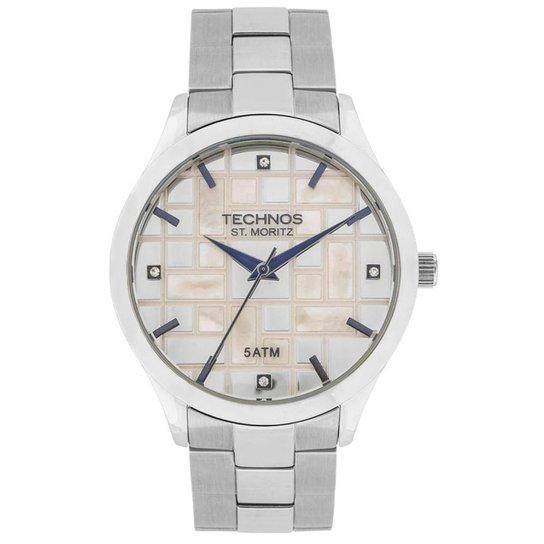 512c964eadb48 Relógio Technos St. Moritz Analógico 2039BB 1B Feminino - Compre ...
