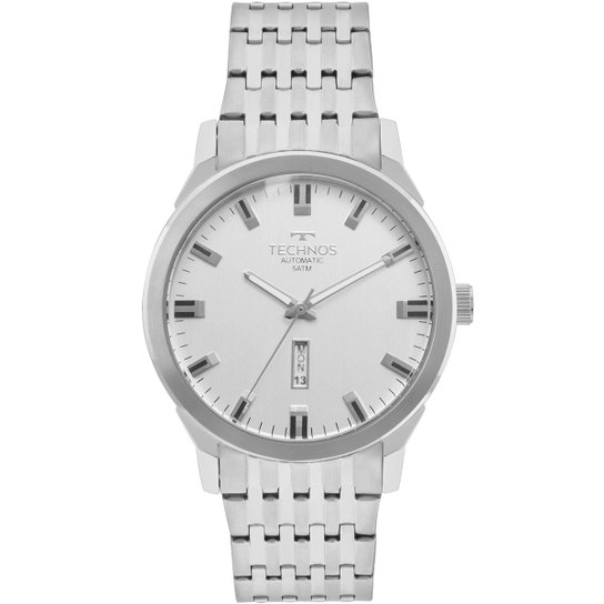 b7a6279c8ec Relógio Technos Analógico 8205OE1K Masculino - Prata - Compre Agora ...