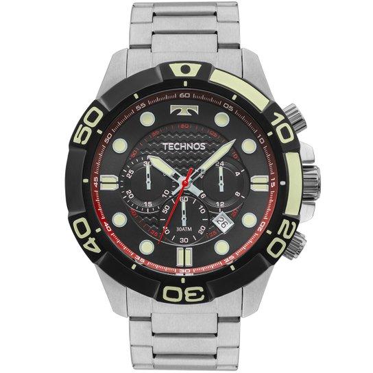 045829e4c9a Relógio Technos JS25BP0P Analógico Masculino - Compre Agora