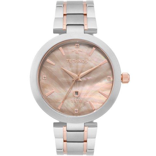 027133b2004 Relógio Technos Analógico GL10IE5F Feminino - Prata - Compre Agora ...