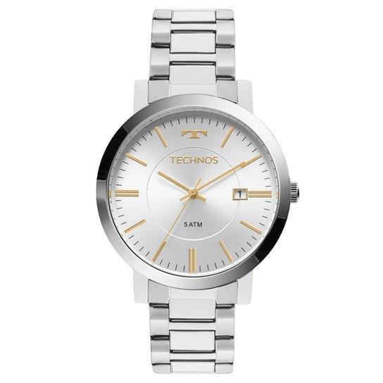 4466142e861 Relógio Technos Analógico 2115KZY 3K Feminino - Prata - Compre Agora ...