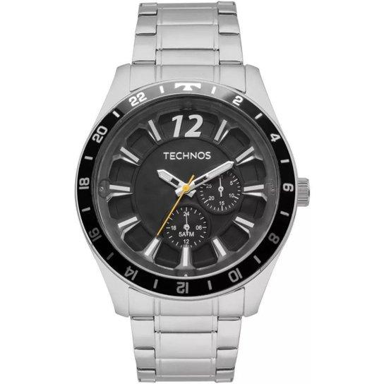 Relógio Masculino Technos 6P22AE 1P 46mm Aço - Prata - Compre Agora ... 078a3c7948