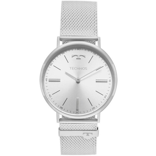 Relógio Technos Unissex Classic Slim - 2025LTL 1K 2025LTL 1K - Prata ... 32c535f662