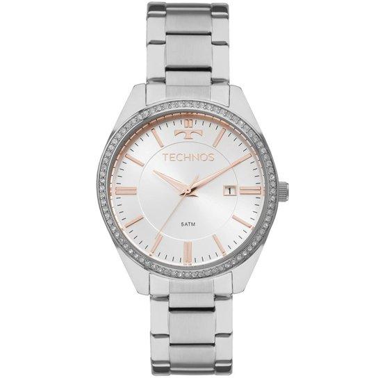 6dcba188c46 Relógio Technos Feminino Ladies 2115MNC 1K 2115MNC 1K - Prata ...