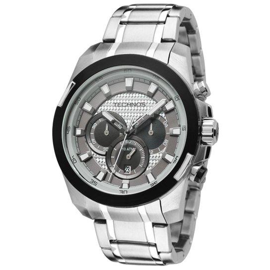 86ada92f0d2c6 Relógio Technos Masculino Prata - OS20HZ 1K OS20HZ 1K - Compre Agora ...